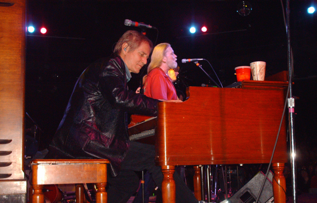 Neil with Gregg Allman New Orleans,  2007
