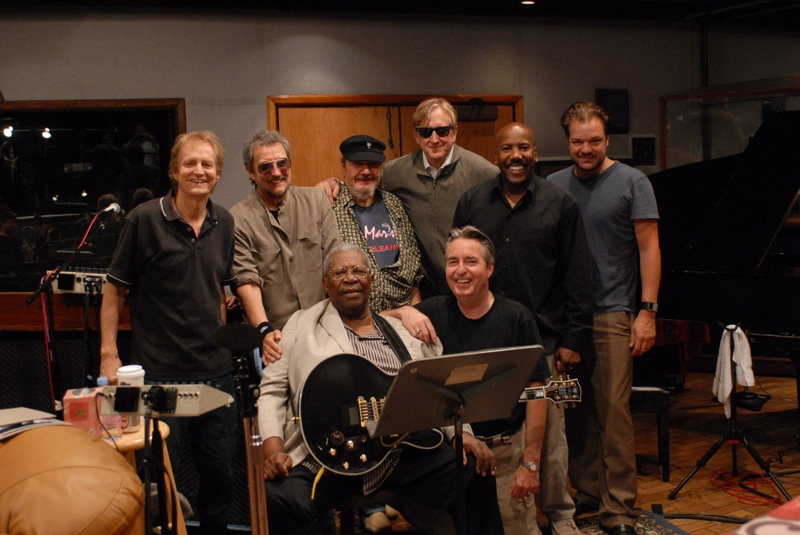 Neil Larsen, Jim Keltner, B.B. King, Dr. John, T-Bone Burnett,                          Johnny Lee Schell, Nathan East, Los Angeles,2006