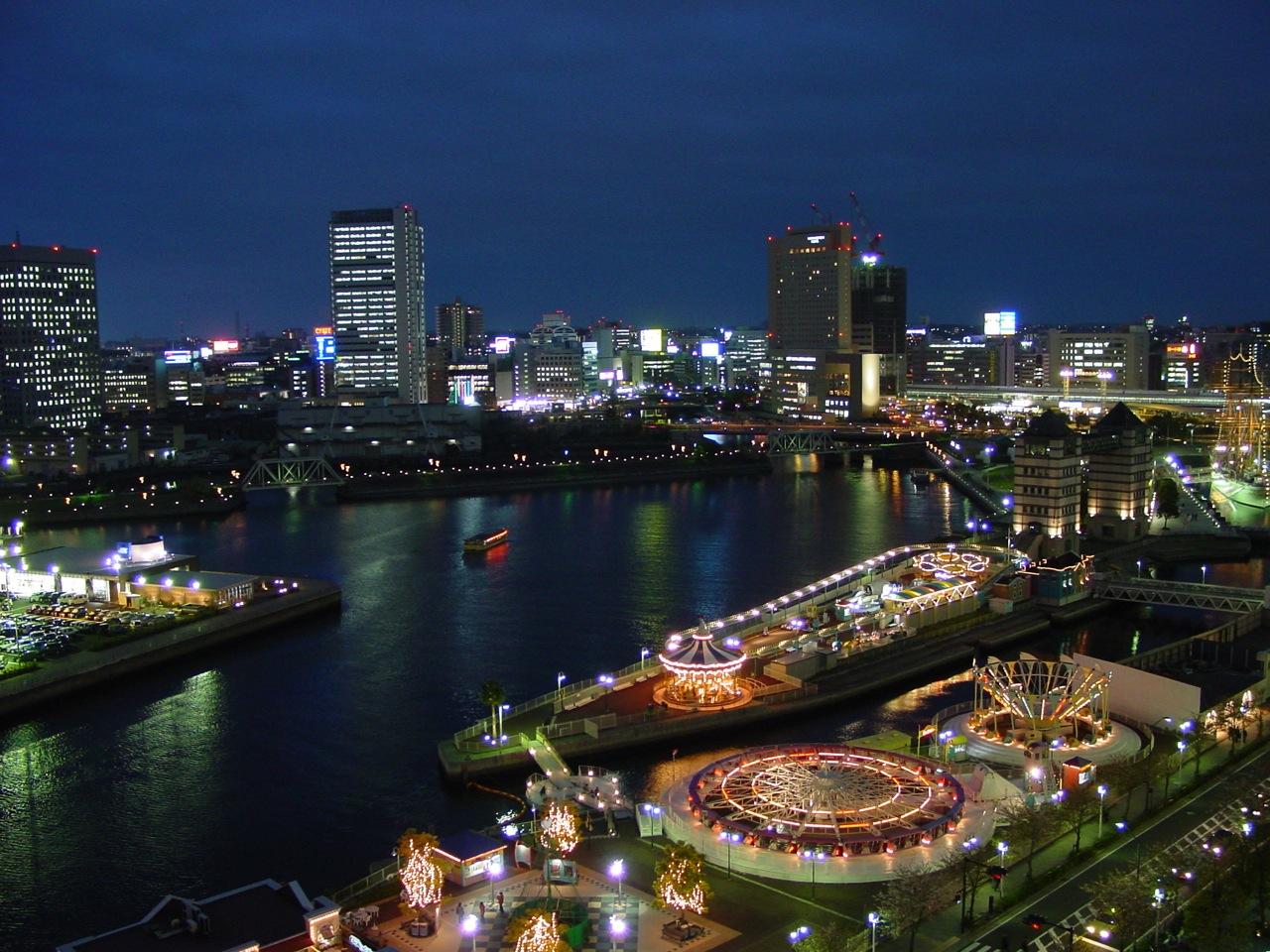 Yokohama Harbor 1