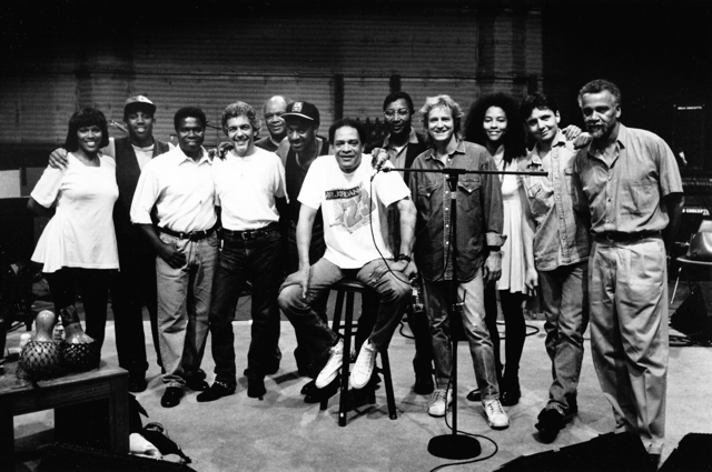 Sharon Young, Jeff Ramsey, Paulino DeCosta, Steve Gadd, Eric Gale, Marcus Miller, Al Jarreau, Patches Stewart, Neil Larsen, Stacy Cambell, Philippe Saisse, Joe Sample.  Los Angeles  1992