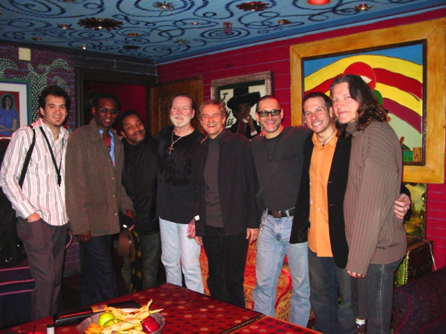 The Gregg Allman Band in Chicago - 2006. Jay Collins, Willie Weeks, Steve Potts, Gregg Allman, Neil Larsen, Jim Sealy, Chris Karlic, Robben Ford.
