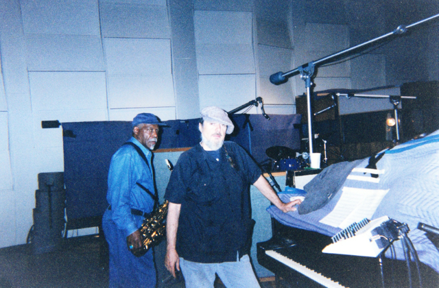 David 'Fathead' Newman & Mac Rebbennac 'Dr. John'  Los Angeles, 2004