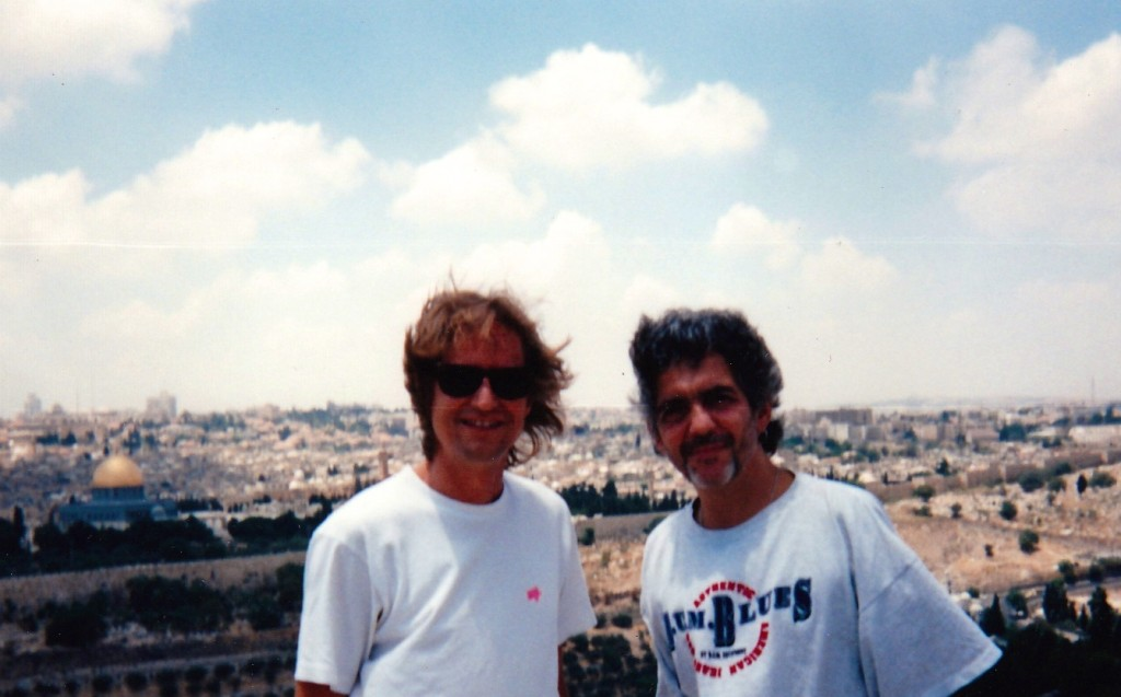 Steve-Neil in Israel